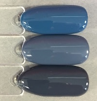 denim patch comparison in bright light shellac by fee wallace