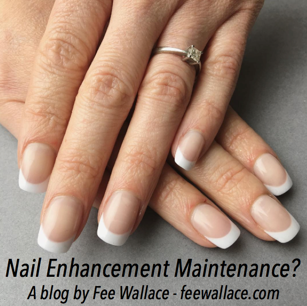 CND Liquid and Powder Nail Enhancements by Fee Wallace