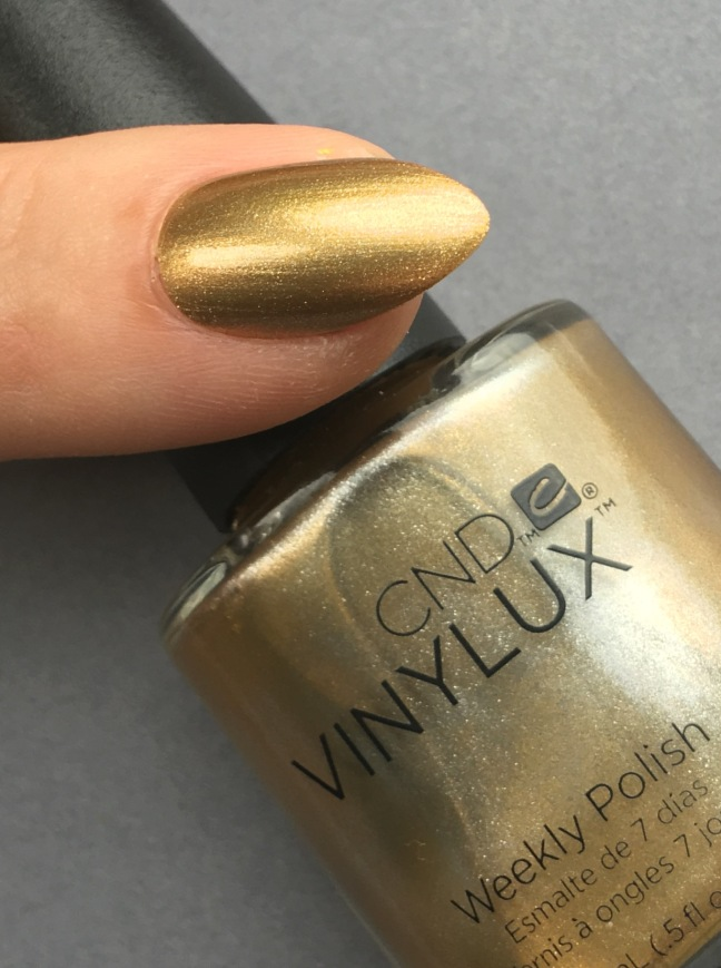 Brass Button VINYLUX from CND Craft Culture Collection by Fee Wallace