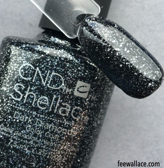 shellac dark diamonds from the cnd starstruck collection by fee wallace