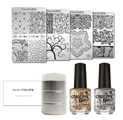 yours loves fee stamping kit available from sweet squared with cnd creative play