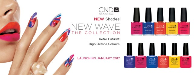 Shellac New Wave Collection on Fee Wallace Blog