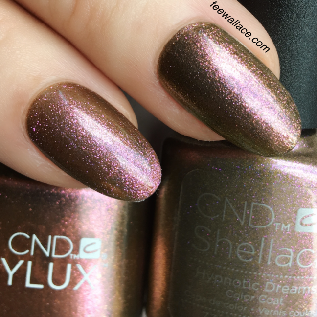 shellac and vinylux hypnotic dreams from the CND NIGHTSPELL collection by Fee Wallace