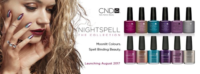 CND nightspell colour collection shellac and vinylux