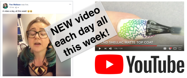 fee wallace new youtube video each day this week