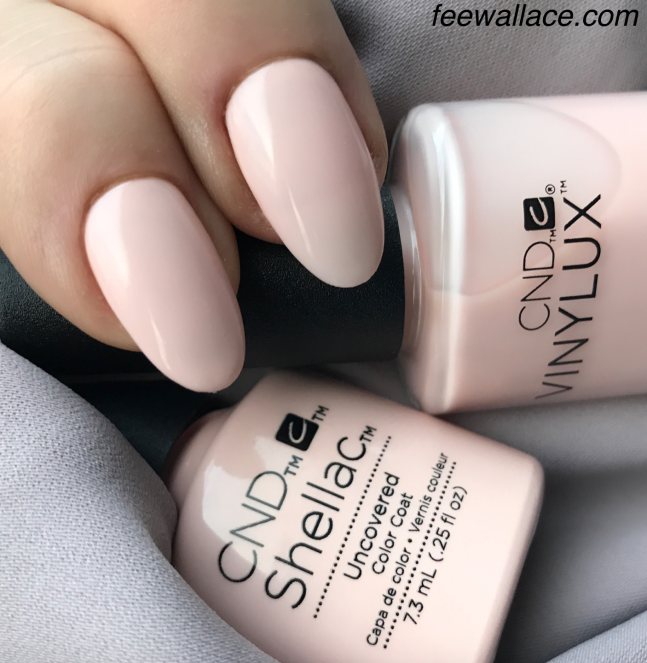 CND Shellac and Vinylux color Uncovered from the CND NUDE Collection by Fee Wallace