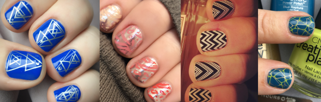 Short nail designs by fee wallace blog banner