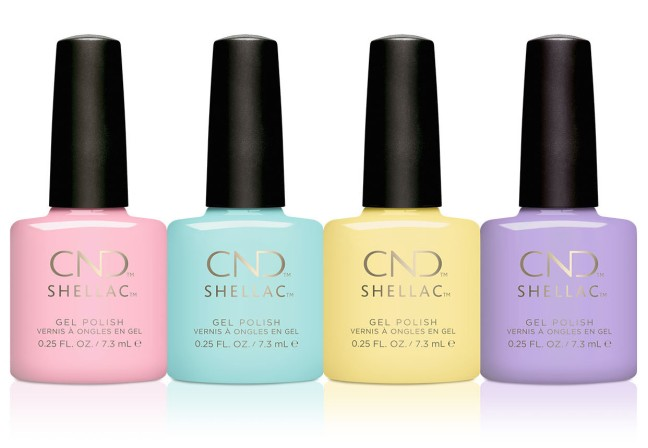 CND Shellac Chic Shock Collection on Fee wallace blog