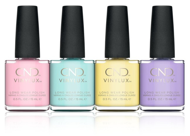 cnd vinylux chic shock collection on fee wallace blog