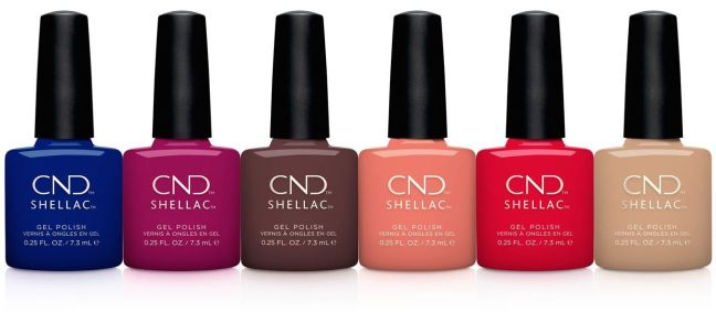 CND Shellac Wild Earth Collection in Fee Wallace blog