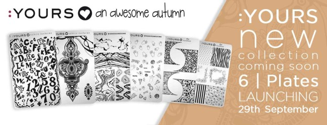 fee wallace blog banner :YOURS awesome autumn stamping plates