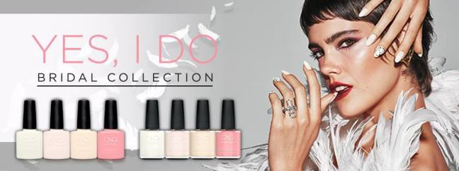 fee wallace blog cnd shellac bridal collection yes i do