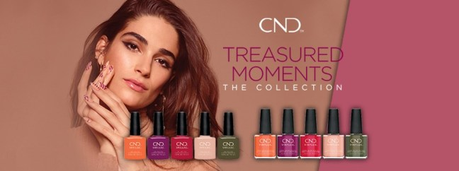 banner for fee wallace blog CND treasured moments shellac vinylux