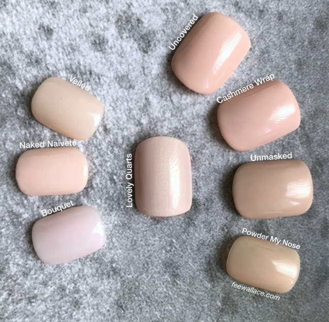 shellac cnd lovely quartz swatch comparison by fee wallace
