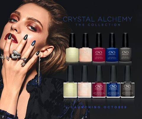 Fee Wallacer blog banner for CND crystal alchemy collection