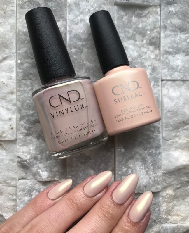 vinylux shellac lovely quartz from cnd crystal alchemy by chloe on fee wallace blog