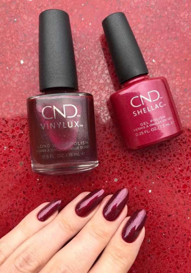 shellac vinylux rebellious ruby by chloe cordelia on fee wallace blog