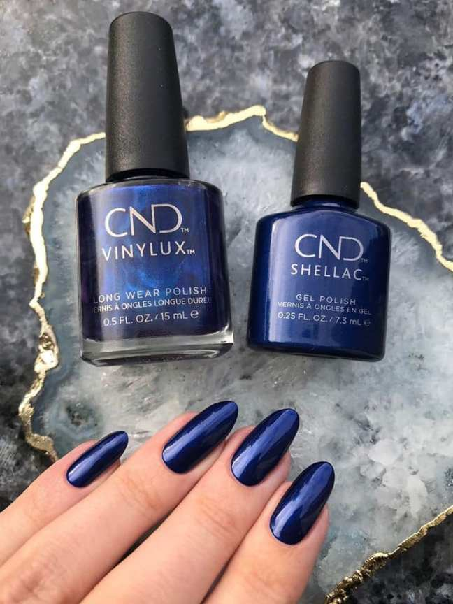 CND sassy sapphire by chloe cordelia on fee wallace blog