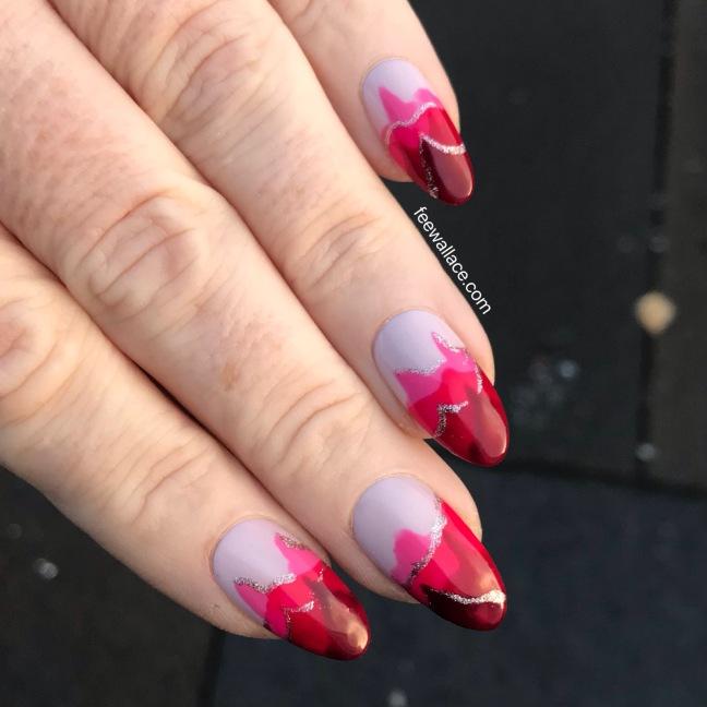 light elegance hard gel nails art design buttercreams by fee wallace