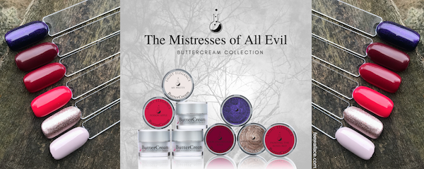 fee wallace blog banner for light elegance mistress of all evil buttercreams