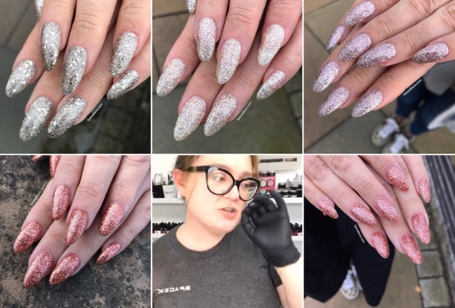 fee wallace glitter gel blog featuring light elegance